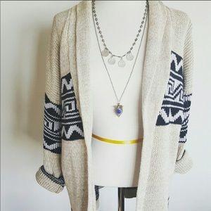 Urban outfitters Aztec ethnic cardigan sweater